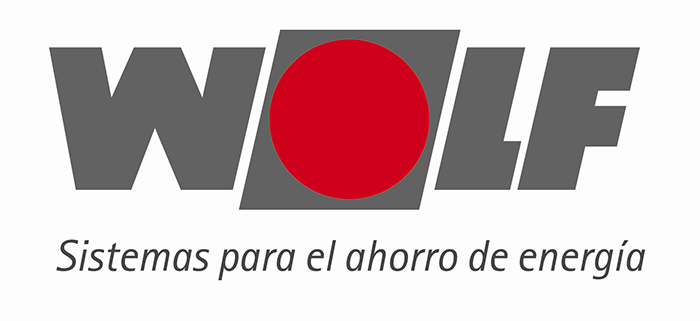 calderas marca wolf logo
