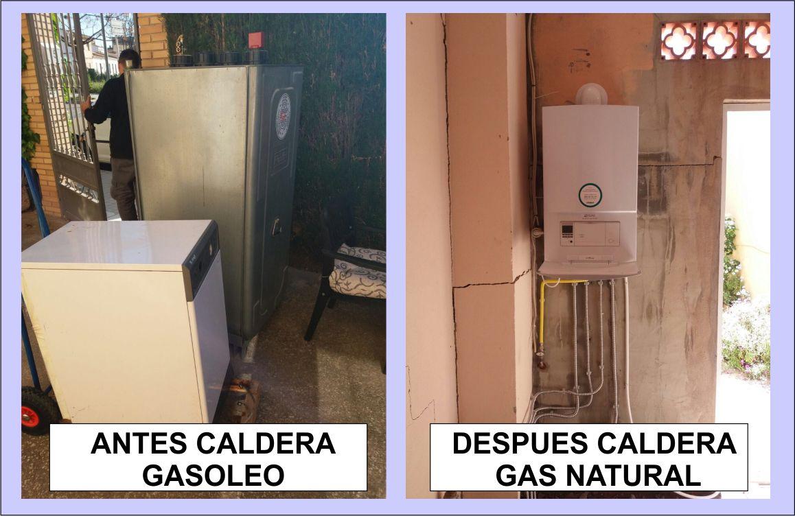 Cambio de caldera gas natural cambio de caldera gas - Calderas gas natural ...